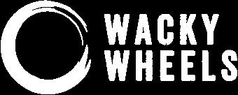 Wacky Wheels logo white